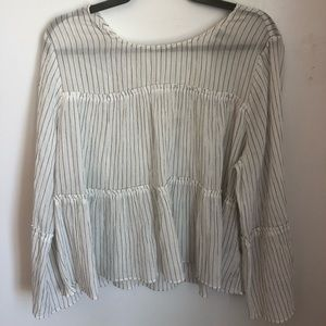 Madewell Striped Blouse